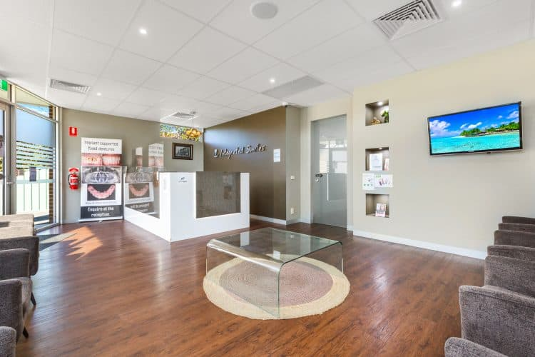 Integrated Smiles Reception | Dentist Bendigo