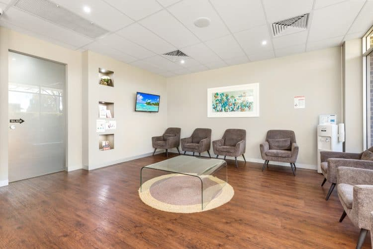 Comfortable reception area at Dentist Bendigo