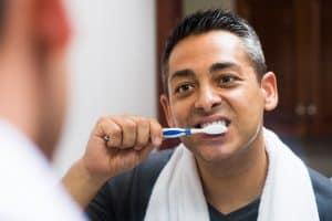 oral-hygiene-step-brushing-teeth